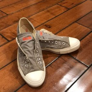 Men's Converse distressed all star sneakers